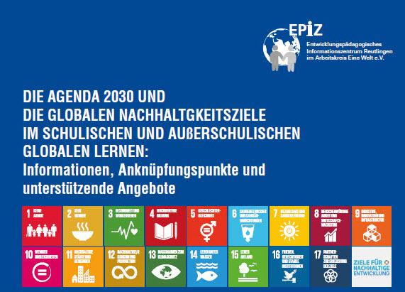 Titelseite Faltblatt zu Bildungsangeboten des EPiZ. Quelle: Epiz Reutlingen