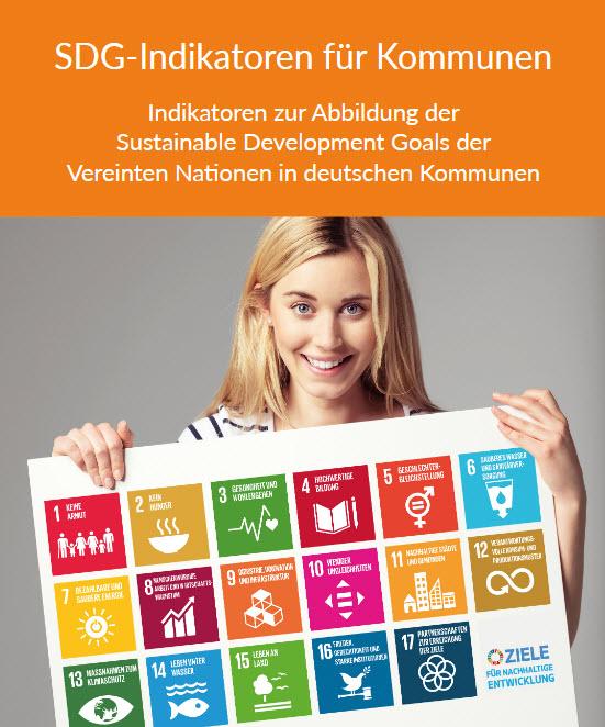 Ausschnitt Titelseite von: Bertelsmann Stiftung (Hrsg.) SDG-Indikatoren für Kommunen.. Quelle: bertelsmann-stiftung.de