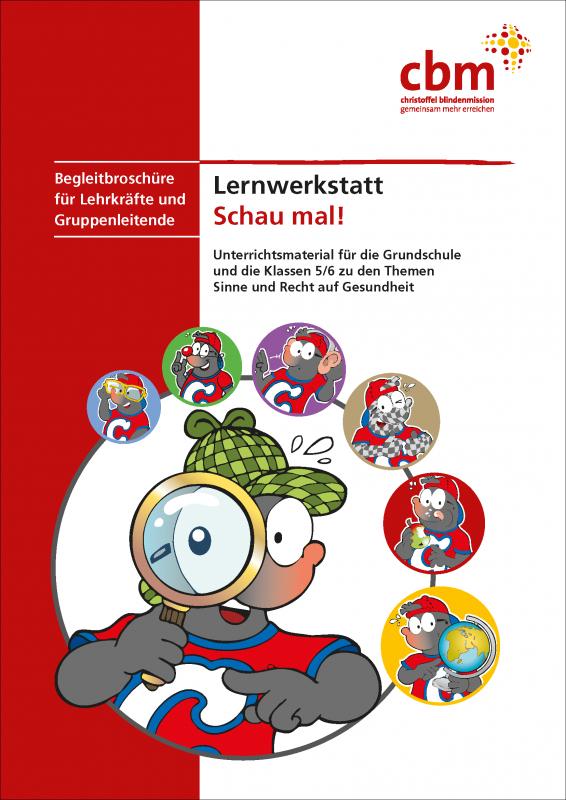 Cover des Bildungsmaterials. Quelle: cbm.de
