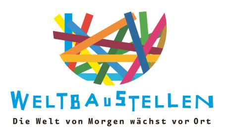Logo Kampagne Weltbaustellen NRW. Quelle: eine-welt-netz-nrw.de