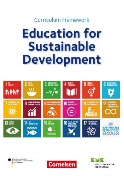 Titelseite Curriculum Framework. Quelle: engagement-global.de