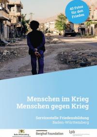 """Cover Bilderset """"Menschen im Krieg – Menschen gegen Krieg"""". Quelle: lpb-bw.de"""