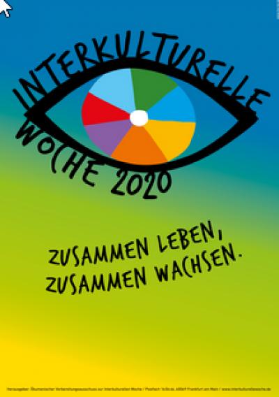 Motiv zur Interkulturellen Woche 2020. Quelle: interkulturellewoche.de