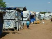 Zelte im UN-Vertriebenenlager in Juba im Südsudan. Bildnachweis: Schirmel/MISEREOR