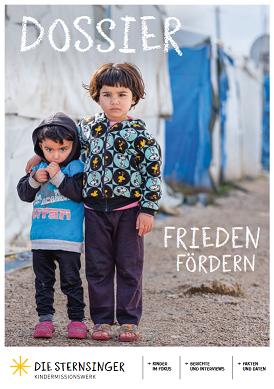 Cover des Dossiers Frieden fördern der Sternsinger
