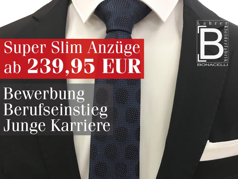 Anzüge ab 239 Euro