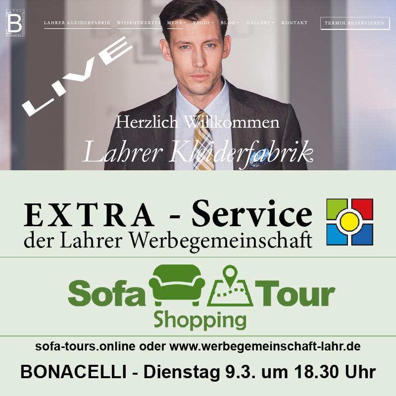 Sofa Shopping Tour Live