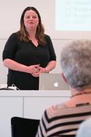 Co-Präsidentin Ilona Schmidt an der GV 2018