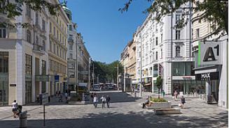 Begegnungszone Mariahilfer Straße, Wien
