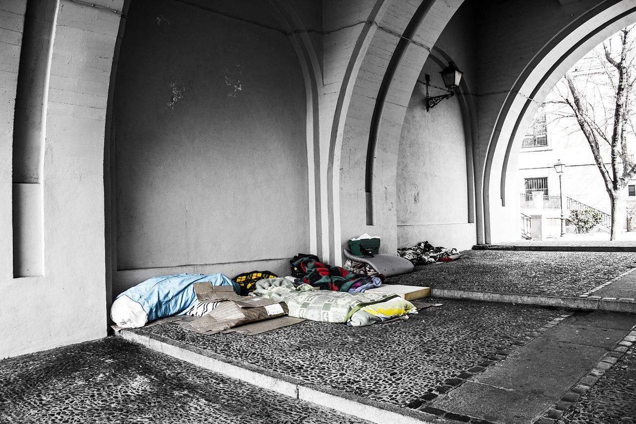 Symbolbild Obdachlosigkeit