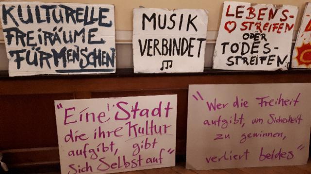 Protestschilder