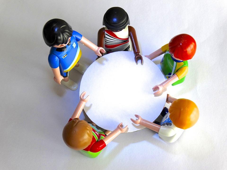 Symbolbild Sitzung