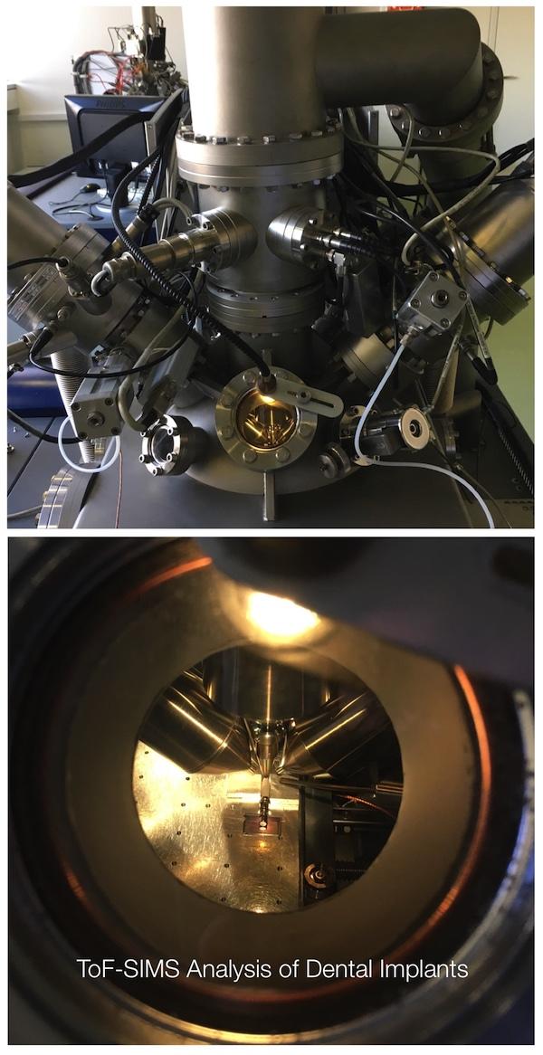 Time-of-flight Secondary Ion Mass Spectroscopy revealed hazardous materials