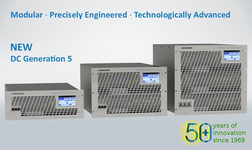 New Generation of Programmable Regenerative DC Power Supplies
