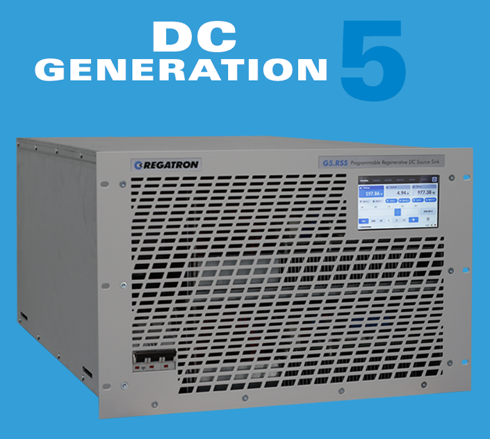 REGATRON is near completion of the brand new G5 family of technologically advanced high-power DC power supplies
