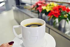 Neujahrs-Kaffee