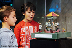 Noch bis 16. Februar: Sonderausstellung Märchenmaschinen