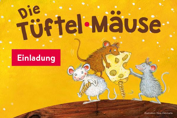 """Ausstellungseröffnung """"Die Tüftelmäuse"""""""