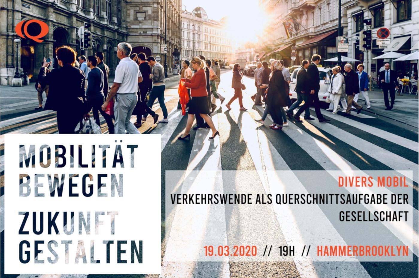 Welche Rolle spielen Unternehmen auf dem Weg zur Mobilitätswende?  20.06.2019 - 19h - betahaus Hamburg