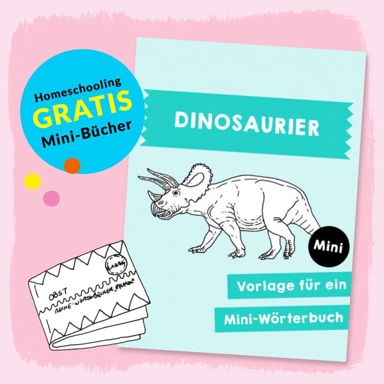 Homeschooling - Minibuch Dinosaurier PDF
