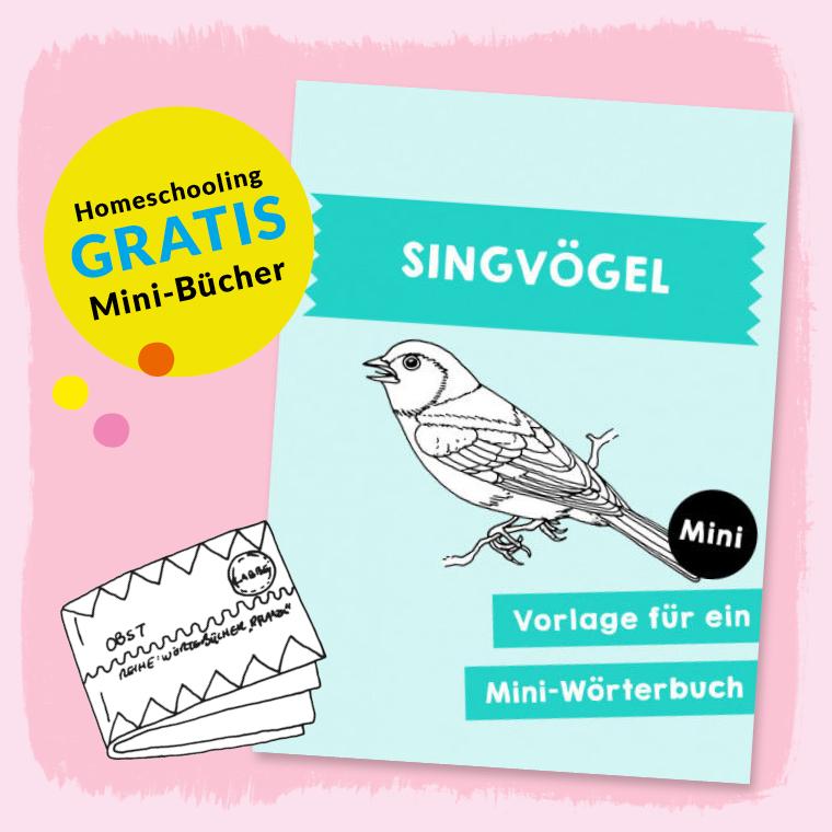 Homeschooling - Minibuch Singvögel PDF