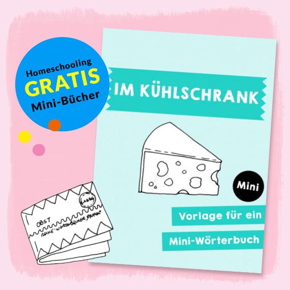 Homeschooling - Mini-Wörterbuch Im Kühlschrank PDF