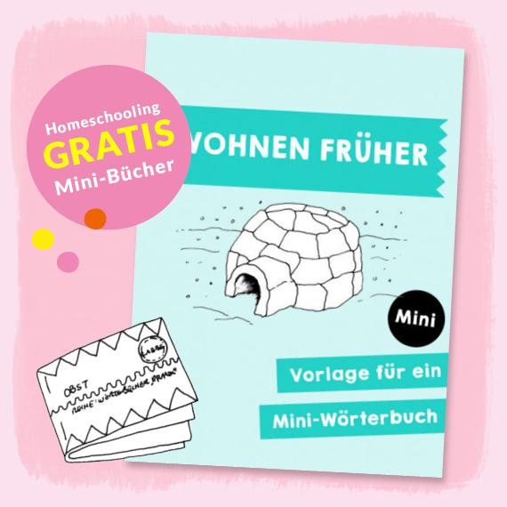 Homeschooling - Mini-Wörterbuch Wohnen früher PDF