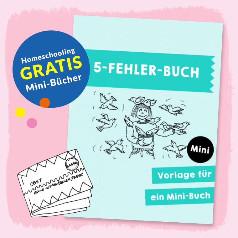 Homeschooling - Minibuch - Fehler-Buch PDF