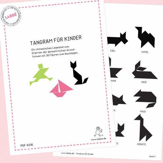 Tangram für Kinder PDF
