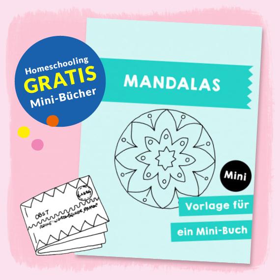 Homeschooling - Minibuch Mandalas PDF