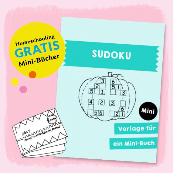 Homeschooling - Minibuch Sudoku PDF
