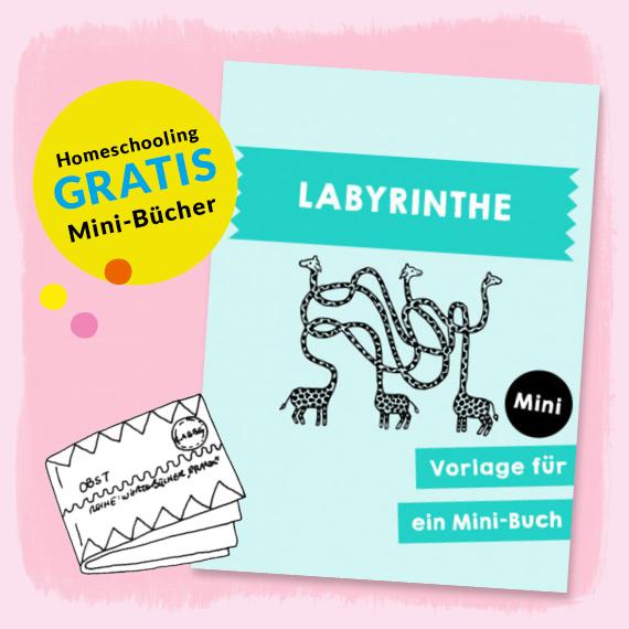 Homeschooling - Minibuch Labyrinthe PDF