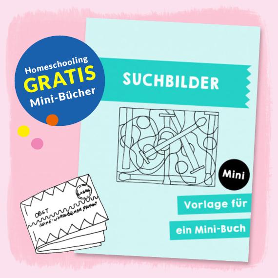 Homeschooling - Minibuch Suchbilder PDF