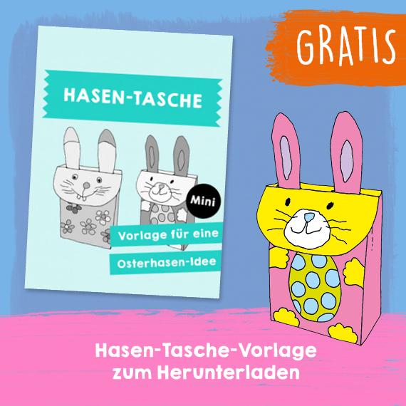 Hasen-Tasche - Gratis PDF