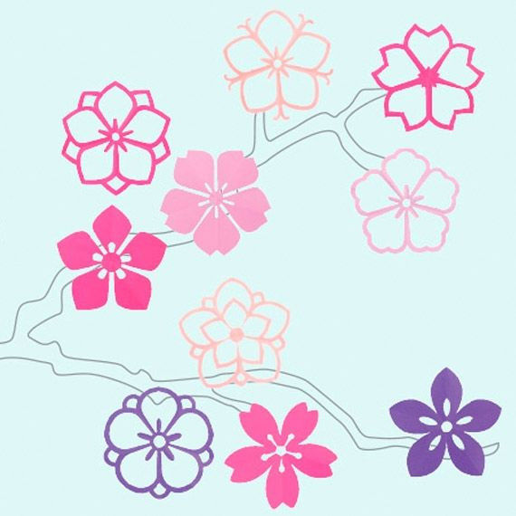 Monkiri-Sakura - Japanischer Papierfaltschnitt PDF