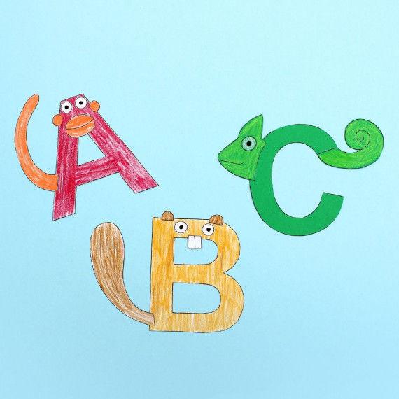 Tier-Alphabet PDF