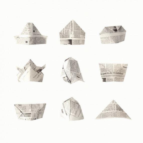 Hüte aus Zeitungspapier PDF