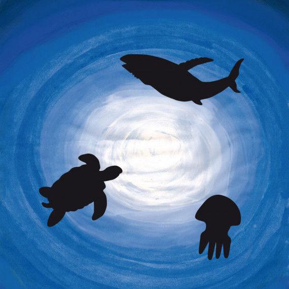 Ozeantiere - Arbeiten mit Tiefeneffekten PDF