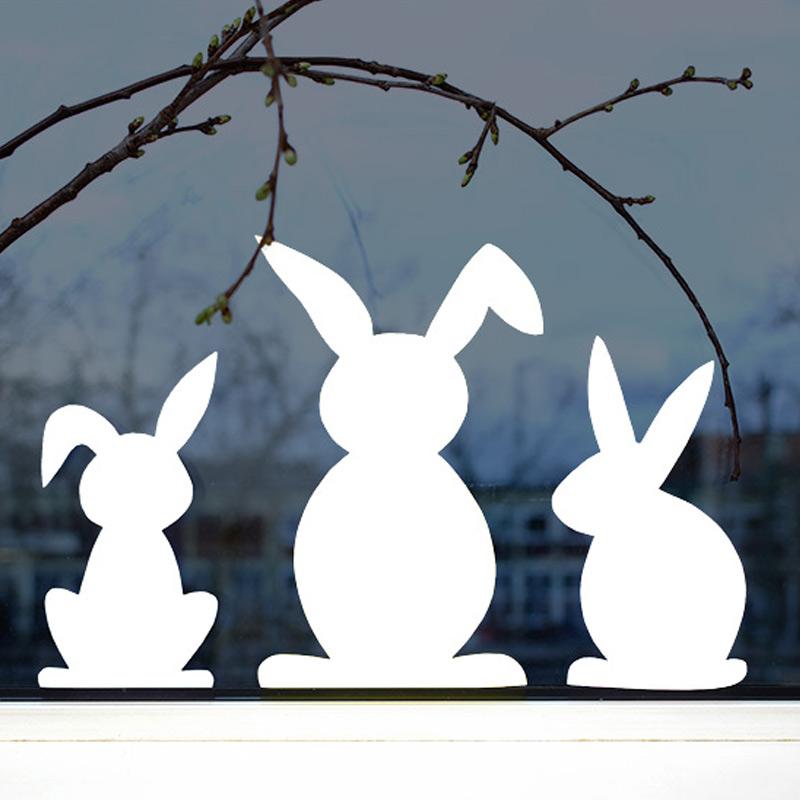 Erstes Schneiden - Hasenfamilie PDF