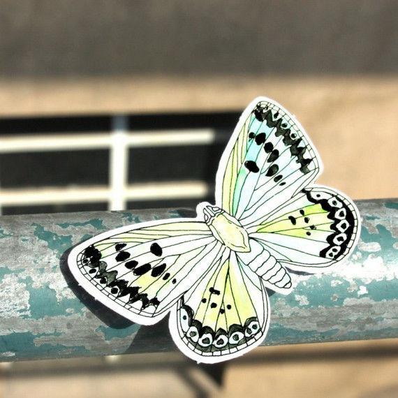Schmetterlinge - Bastelvorlagen PDF