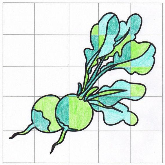 Gemüse im Quadrat PDF