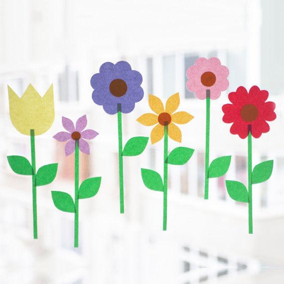 Blumen-Fensterbild PDF