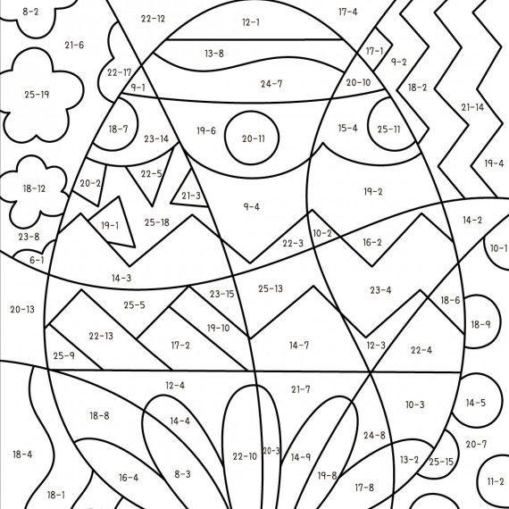 Pop-Art – Mathe: Ostern PDF