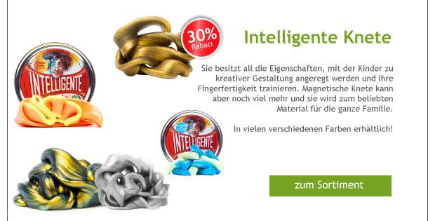 -30% Rabatt auf Intelligente Knete