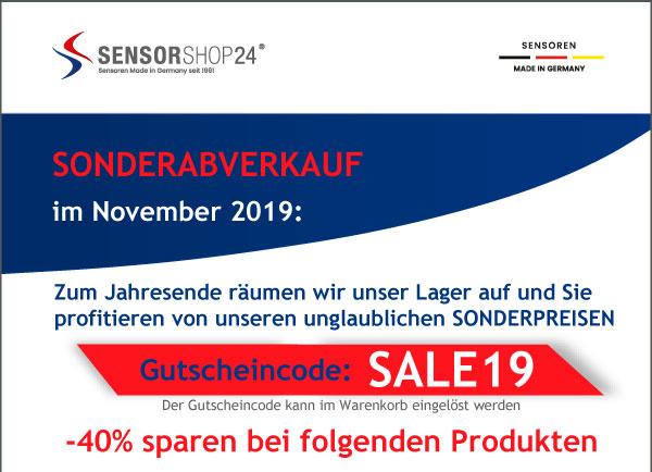 Sonderabverkauf im November 2019 - direkt zum Shop
