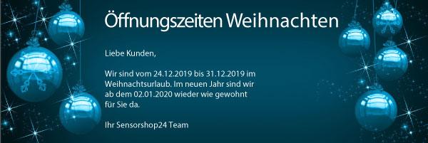 Unsere Öffnungszeiten über die Feiertage 2019/2020