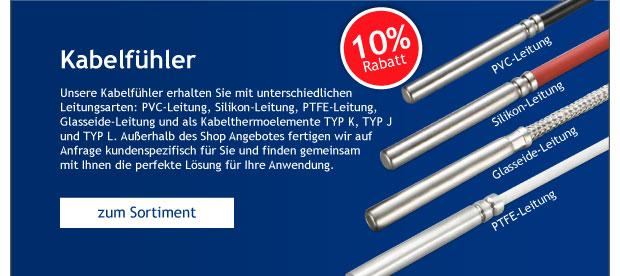 Unser Geschenk: -10% auf alle Kabelfühler bei Sensorshop24.de