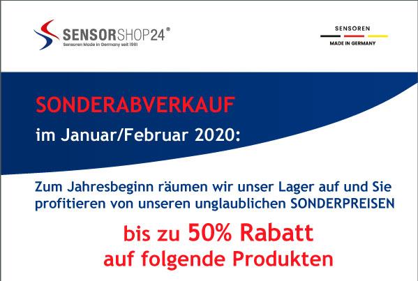 Abverkaufsaktion - bis zu 50% Rabatt auf ausgewählte Produkte