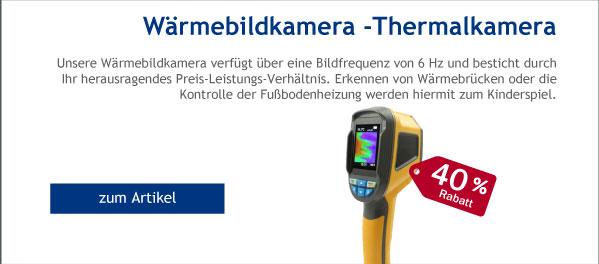 - 40% Rabatt auf Wärmebildkamera