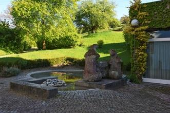 Brunnen in der Propstei Wislikofen